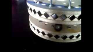 lanceur magnétique en moteur avec un aimant en moins