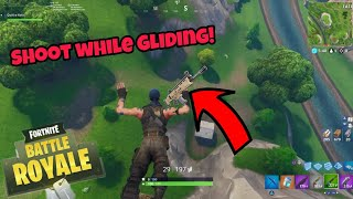 Fortnite Glitches Season 5 (New) Shoot While Gliding PS4/Xbox one 2018