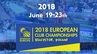 Lokomotiva Kosice vs Moss BK (Match 1, Group Stage) - ECC2018