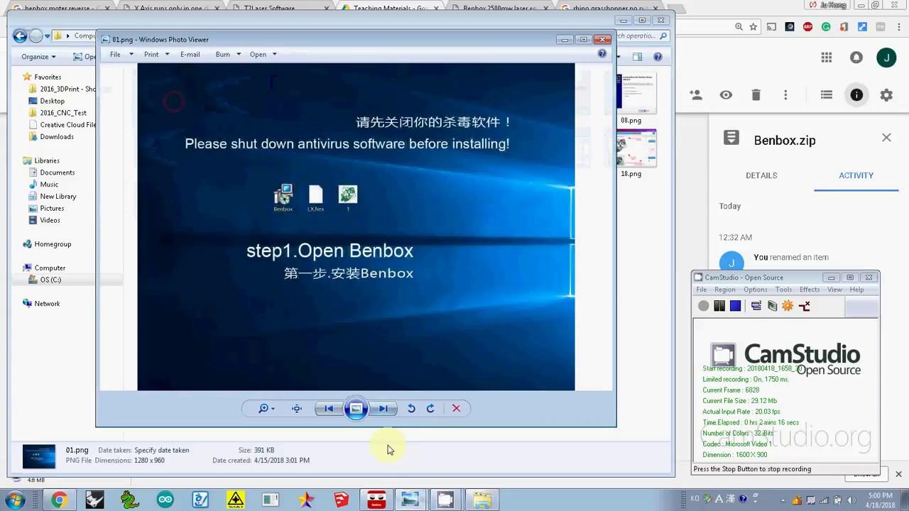 005 install BenBox