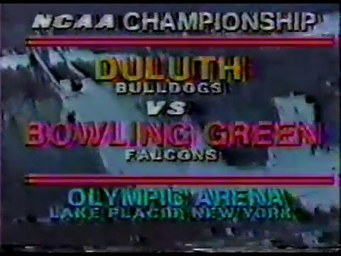 NCAA Hockey: 1984 National Championship - Bowling Green vs. Minnesota-Duluth