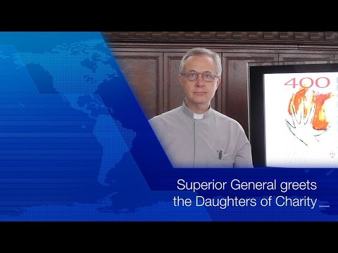 [ENG] Superior General greets  the Daughters of Charity