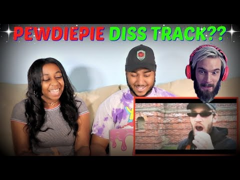 "Pewdiepie ""TSERIES DISS TRACK"" REACTION!!"
