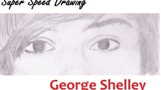 Super Speed Drawing: George Shelley (Union J, X-Factor) | EilidhLovesArt