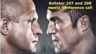 Bellator 207 and 208 Heavyweight Grand Prix Conference Call