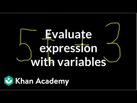 Variables and Expressions 1