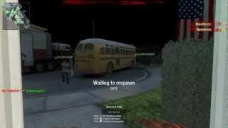 """Black Ops """"Nuketown Zombies"""" Play As Zombie! -  PC Multiplayer Mod Gameplay"""