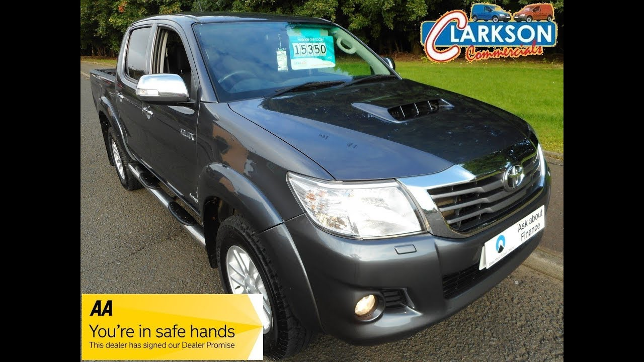 www clarkson-commercials co uk - 2014 Toyota Hilux invincible for sale