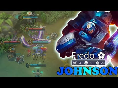 Best Driver Ever! [F̶r̶e̶d̶o ✿] mobile legends johnson gameplay