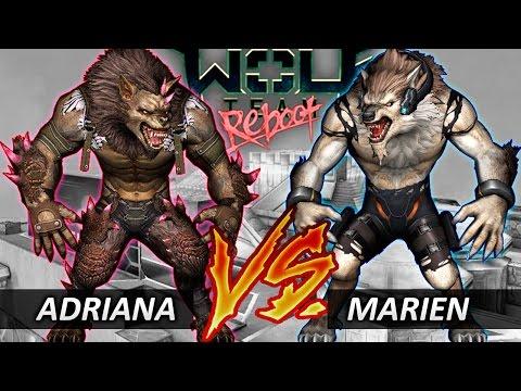 WolfTeam ADRIANA VS MARIEN - Nuevos Reboot 2017 (TochyGB)