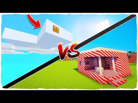 Download Youtube: 👉 ¡Casa de NUBES vs casa de CARAMELOS! - MINECRAFT