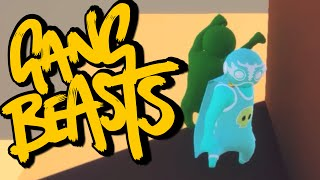 SUPERHÉROE Y AMIGO - Gangs Beasts Momentos Graciosos #2
