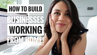 WORKING FROM HOME // BEHIND THE SCENES ORGANIZATION & MOTIVATION TIPS