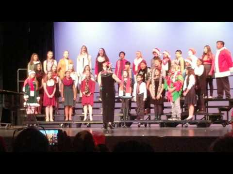 Placerita Junior High School Choir Holiday Concert 2016