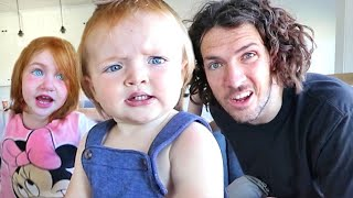 KiDS STORY TiME!! Family is Back Together! We Learn everyone's routine while i was traveling!