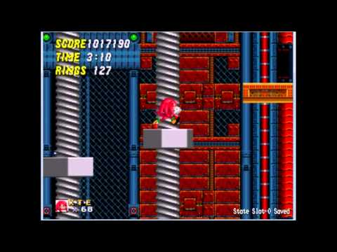 Sonic 2 and Knuckles Gameplay Part 8 Special Edition(Metropolis+Sky Chase+Wing Fortress)
