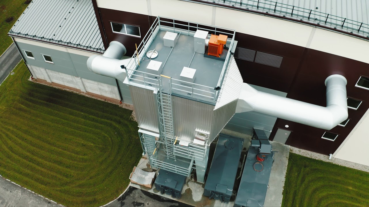 A new biofuel boiler house has been opened in Valmiera, Latvia