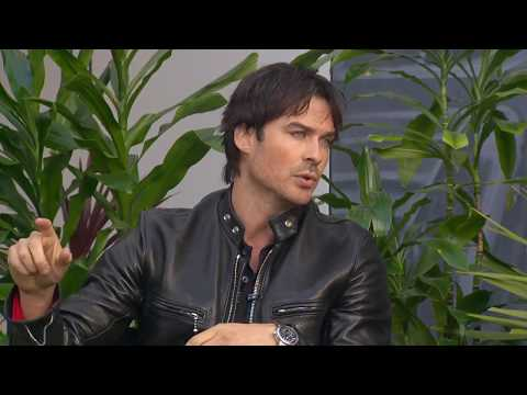 Ian Somerhalder discusses environmental activism, upcoming 'Cold Wash Party' and more
