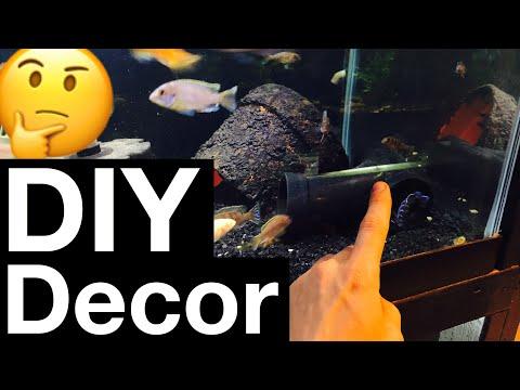 DIY Aquarium Decorations - Fish Tank Decor