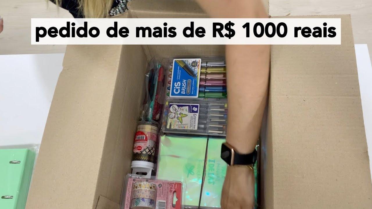 Lojinha da Lívia | Mais de 35 itens de papelaria em um pedido 😯