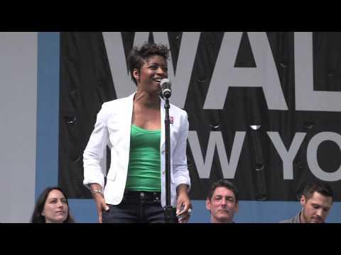 "Montego Glover of Broadway's ""It Shoulda Been You"" sings ""True Colors"""