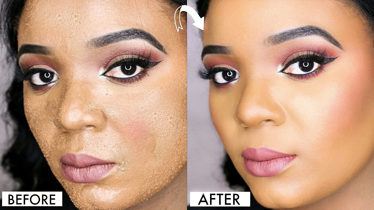 how to avoid cakey foundation amp smudgy concealer on acne