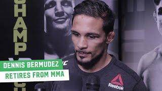 Dennis Bermudez retires from MMA with win on ESPN | UFC on ESPN+1 Media Scrum