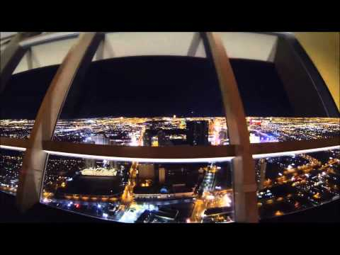 Top Of The World Restaurant - Las Vegas - Stratosphere - Rotating Time-Lapse