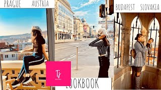 EUROPE OUTFIT LOOKBOOK | PRAGUE| BUDAPEST | BRATISLAVA | VIENNA |