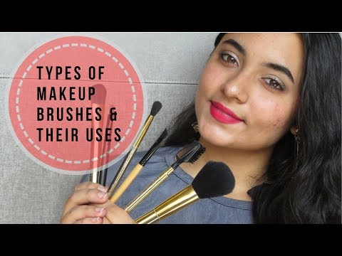 What are different types of makeup brushes and how to use them | Falguni Thacker