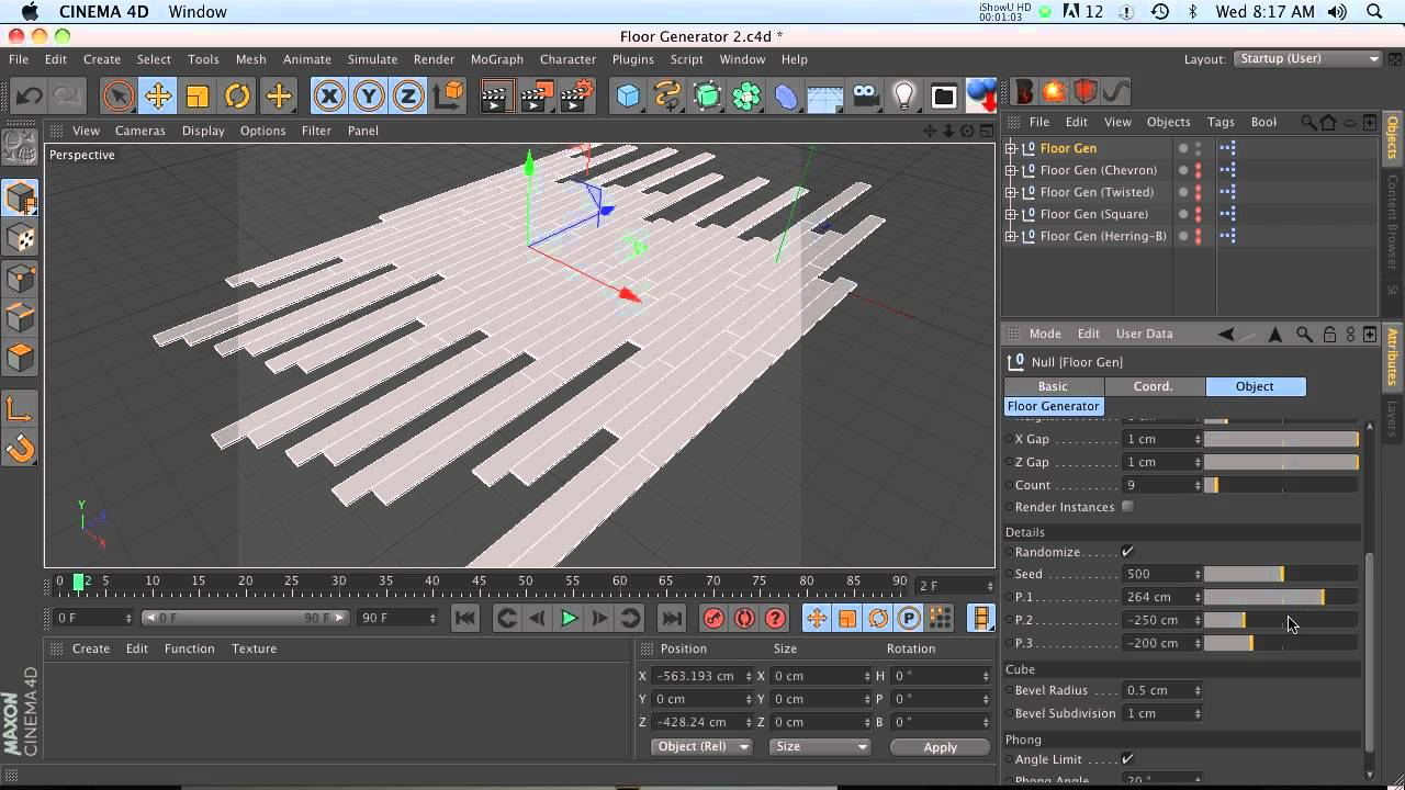 C4D Free Resource: Xpresso Floor Generator - YouTube