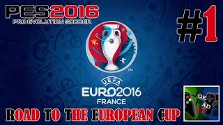 EURO 2016 [PES 2016] #1 - ESORDIO DELL' ITALIA! (HD)