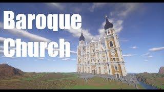 minecraft baroque church