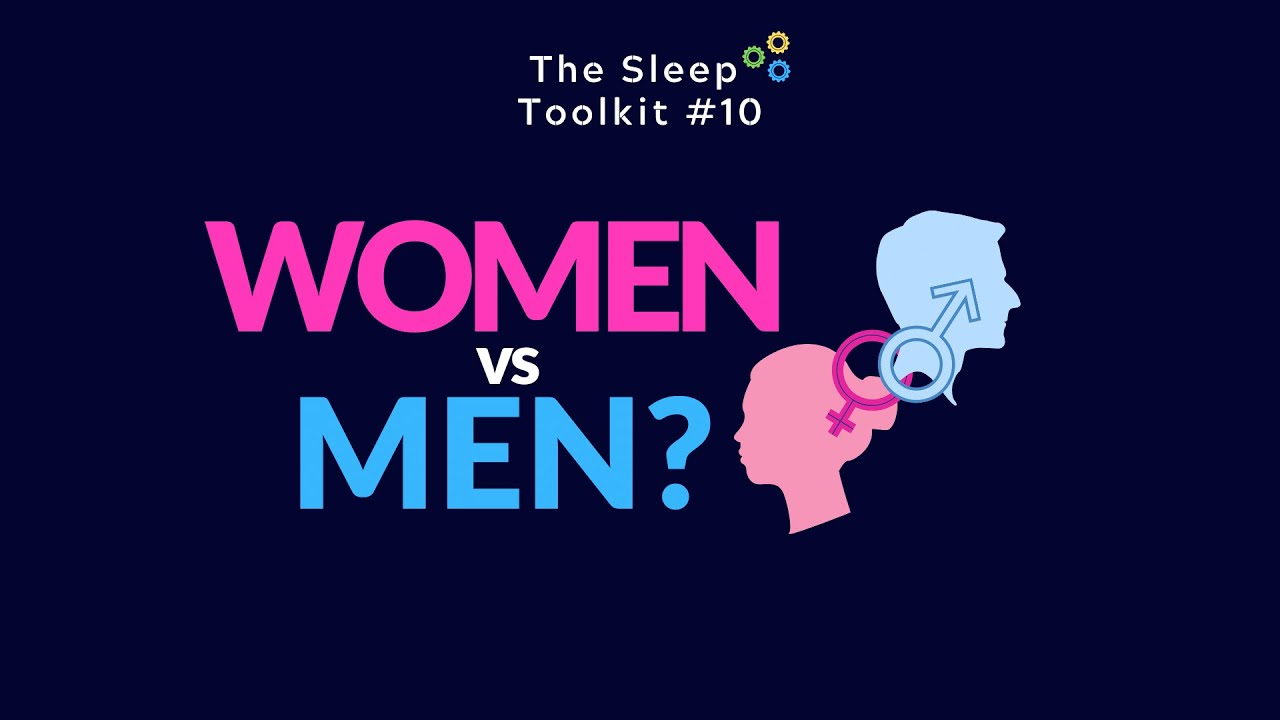 Women vs. Men.. Who gets the best sleep?