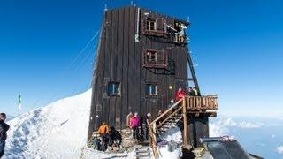 Climb to Margherita Hut, Signalkuppe, Pennine Alps