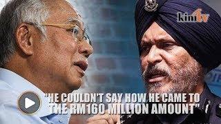 Amar: Najib couldn't prove his claim that police seized RM160m during raid