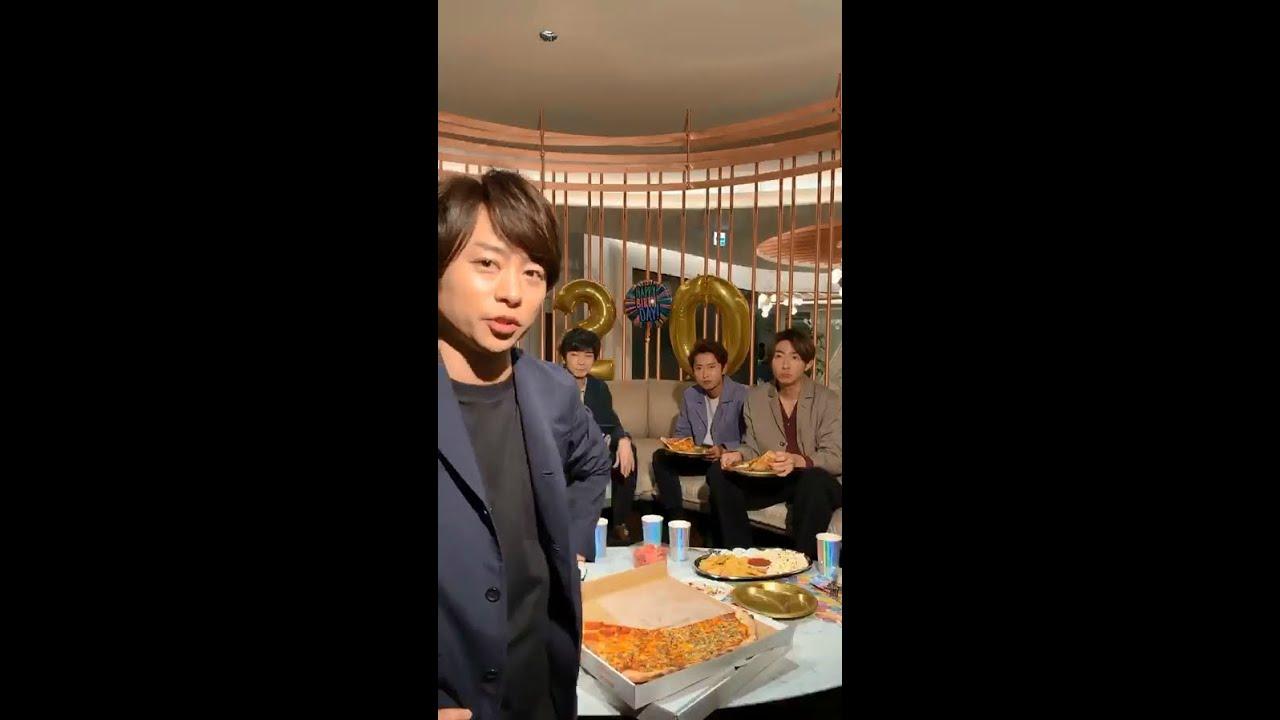 ライブ 動画 インスタ 嵐