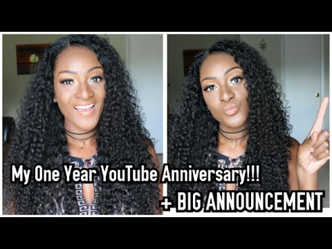 My One Year YouTube Anniversary + BIG ANNOUNCEMENT!!! || Chanelle Novosey