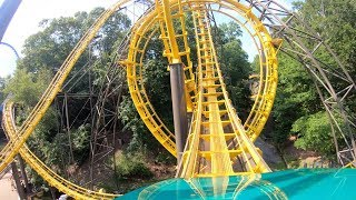 Loch Ness Monster (4K On-Ride) Busch Gardens Williamsburg