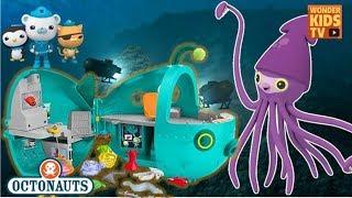 옥토넛 VS 대왕오징어. 바다탐험대 옥토넛 대왕오징어와의 대결. DISNEY TOYS