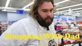 shopping with depressed and lonely dad