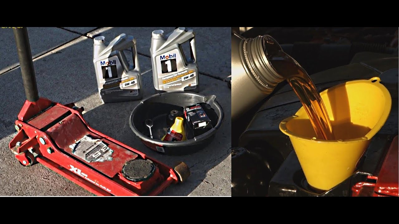 How to change Engine Oil on a Mercedes CLK Class | W209 | C209 ...