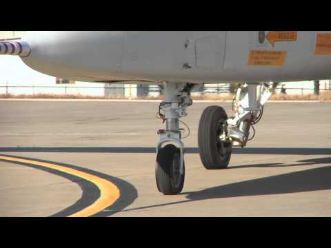 Scorpion's First Taxi Test at McConnell Air Force Base 12/3/13