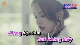 [Karaoke HD] Tự Thương Lấy Mình - Võ Kiều Vân ✔