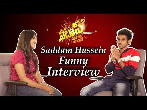 Patas Show Fame Saddam Hussein Funny Interview | Telugu Comedy Shows | Anchor KC | IndionTvNews