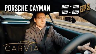 PORSCHE 718 Cayman Zeiten messen - Was ich mag/nicht mag   CarVia