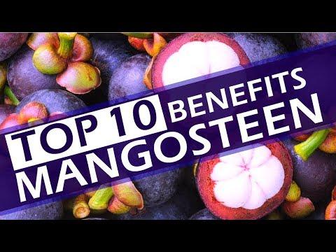 Top 10 Benefits Of Mangosteen - Best Mangosteen Health Benefits -  Amazing Benefits Of Mangosteen