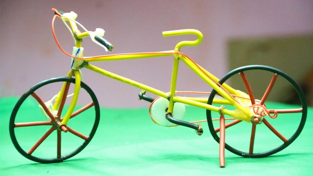 How To Make A Wire Bicycle - Mini Wire Bike