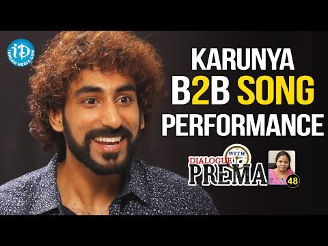 Karunya Back To Back Song Performance    Dialogue With Prema    Celebration Of Life