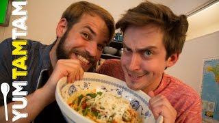 TheClavinover Küchenmusik // Spaghetti mit Tomatensauce // #yumtamtam